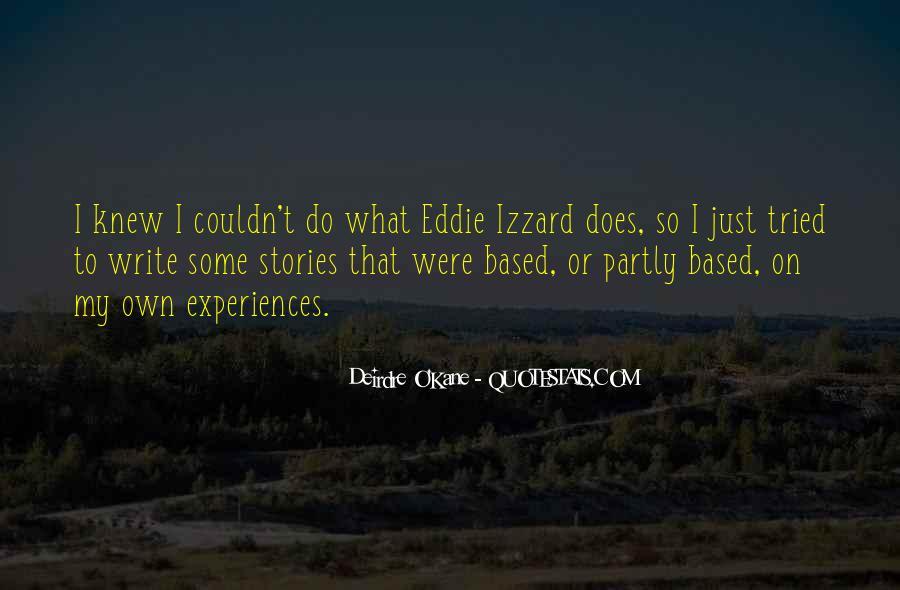 Eddie O'sullivan Quotes #476977