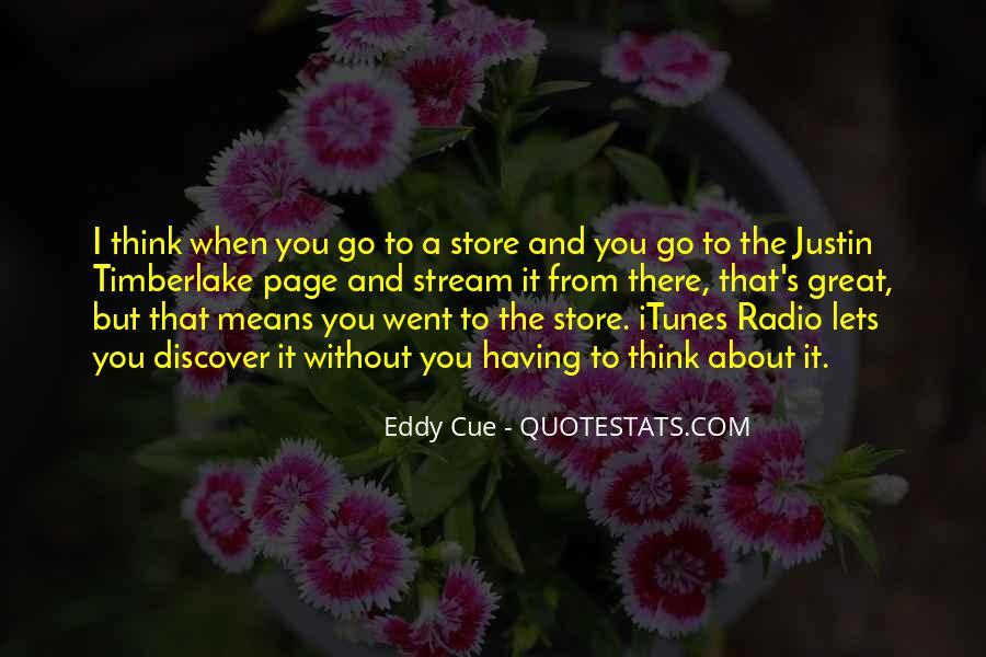 Eddy Cue Quotes #2974