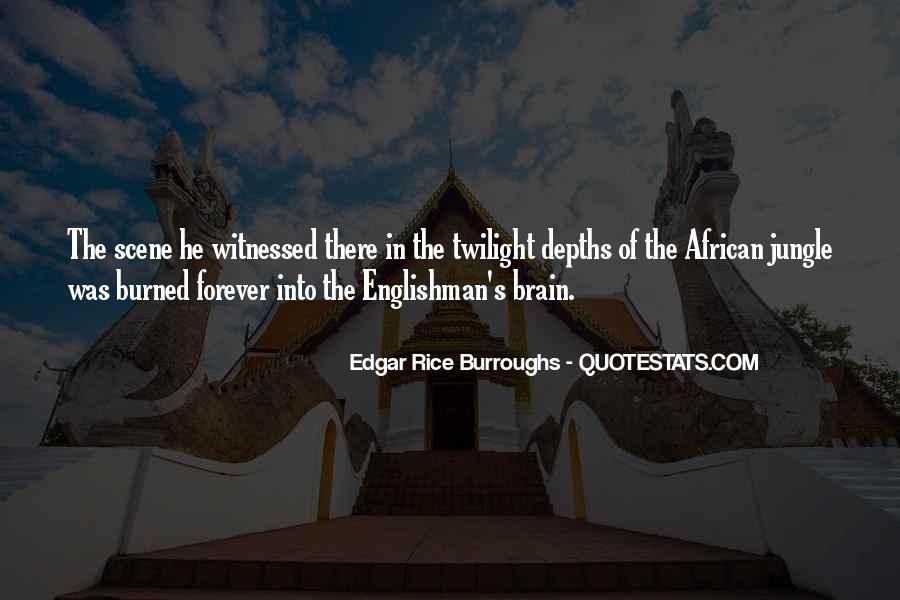 Edgar Rice Burroughs Quotes #1033898