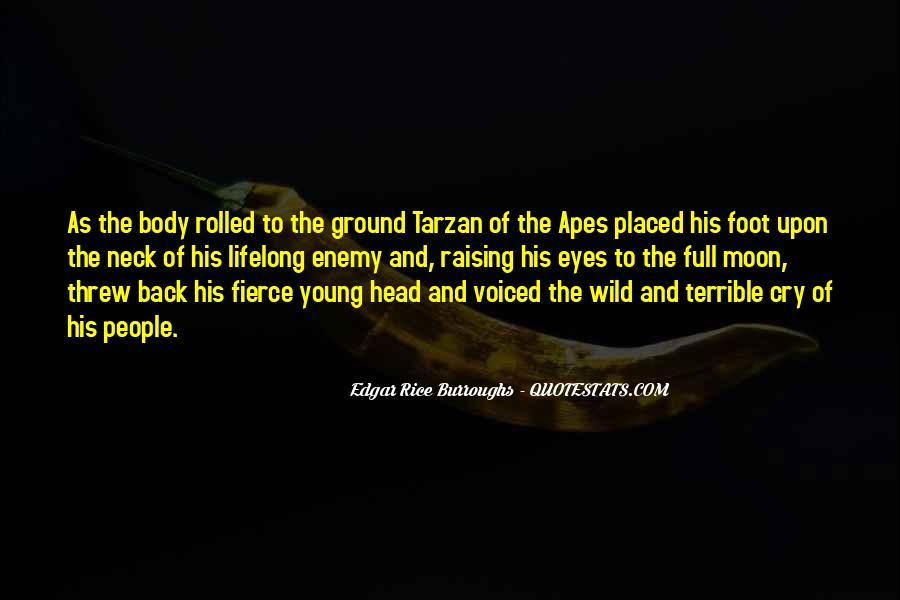 Edgar Rice Burroughs Quotes #1047453