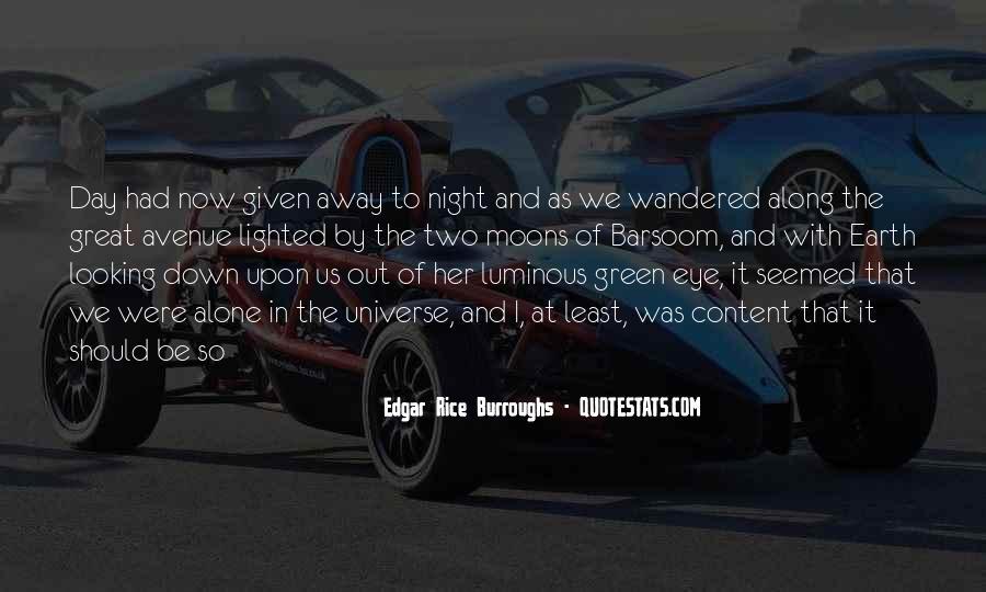 Edgar Rice Burroughs Quotes #105024