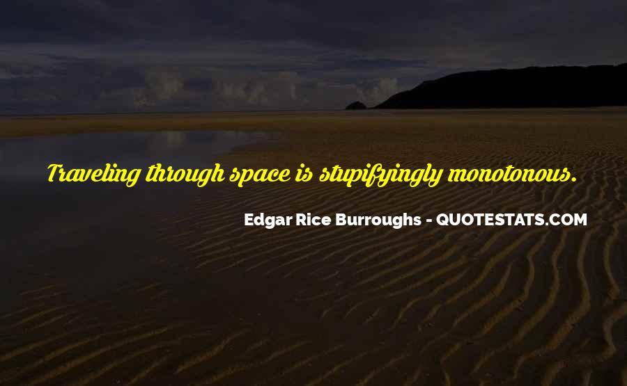 Edgar Rice Burroughs Quotes #1056645