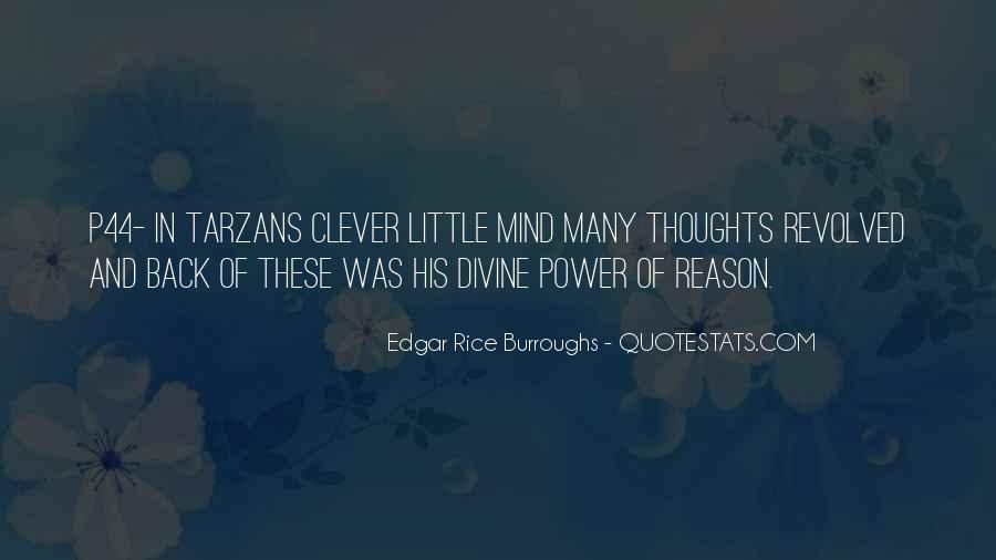 Edgar Rice Burroughs Quotes #1066654