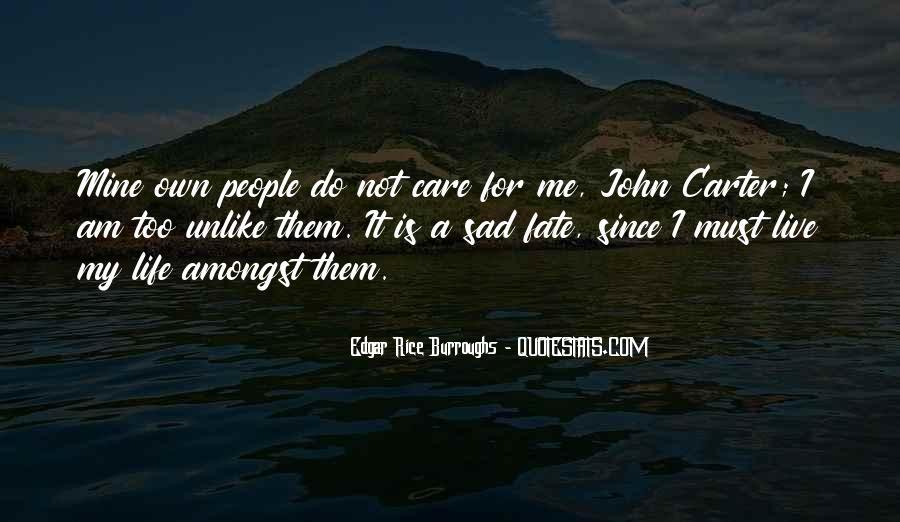 Edgar Rice Burroughs Quotes #1130872