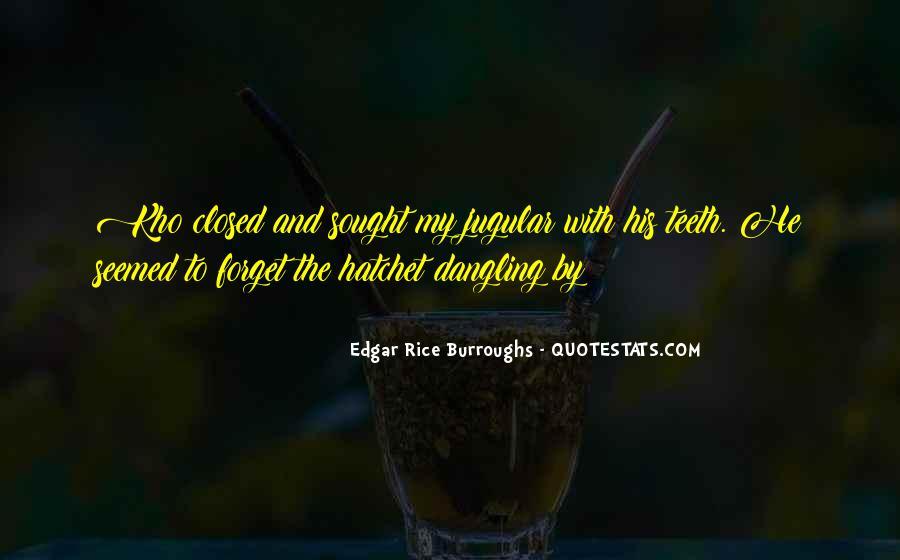 Edgar Rice Burroughs Quotes #1225689