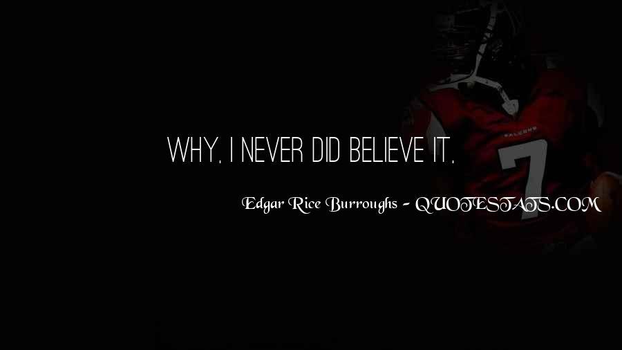 Edgar Rice Burroughs Quotes #126924