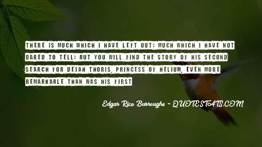 Edgar Rice Burroughs Quotes #136750