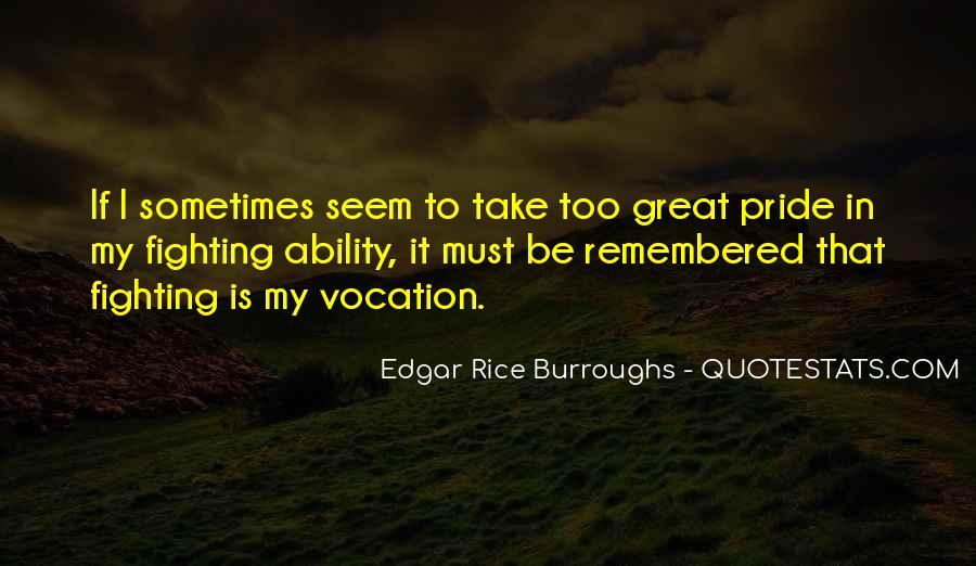 Edgar Rice Burroughs Quotes #138663