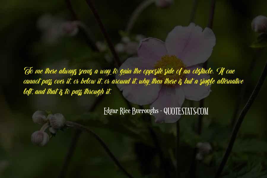 Edgar Rice Burroughs Quotes #184753