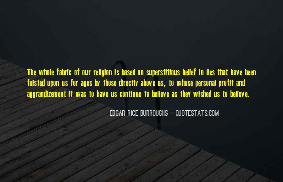 Edgar Rice Burroughs Quotes #299503