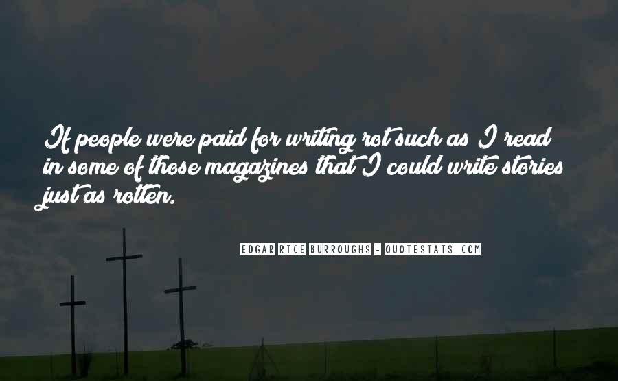 Edgar Rice Burroughs Quotes #303362