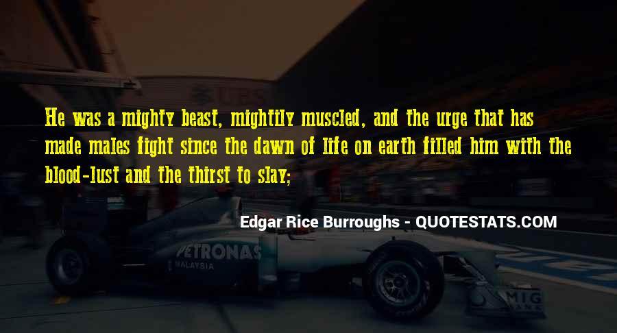 Edgar Rice Burroughs Quotes #337693
