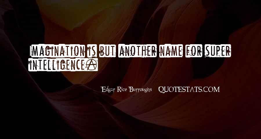 Edgar Rice Burroughs Quotes #381450