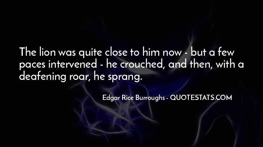 Edgar Rice Burroughs Quotes #386042