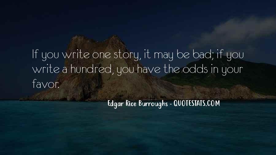 Edgar Rice Burroughs Quotes #40410