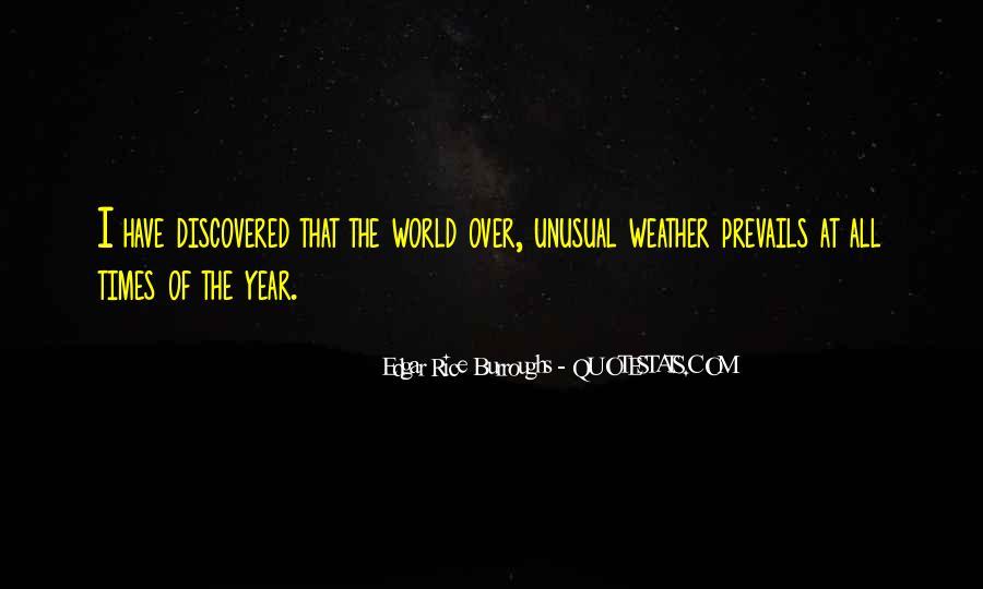 Edgar Rice Burroughs Quotes #426775