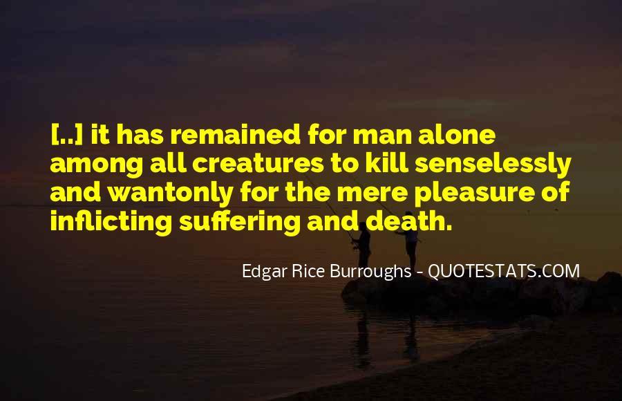 Edgar Rice Burroughs Quotes #530595