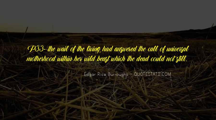 Edgar Rice Burroughs Quotes #544393