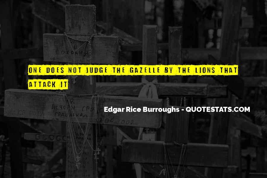 Edgar Rice Burroughs Quotes #695693