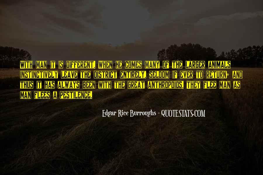 Edgar Rice Burroughs Quotes #750129