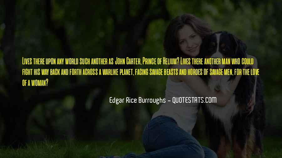 Edgar Rice Burroughs Quotes #774847