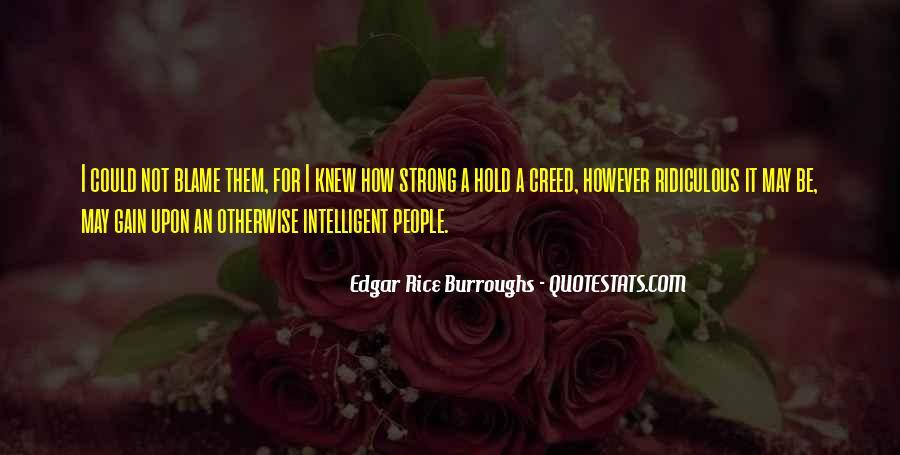 Edgar Rice Burroughs Quotes #826721