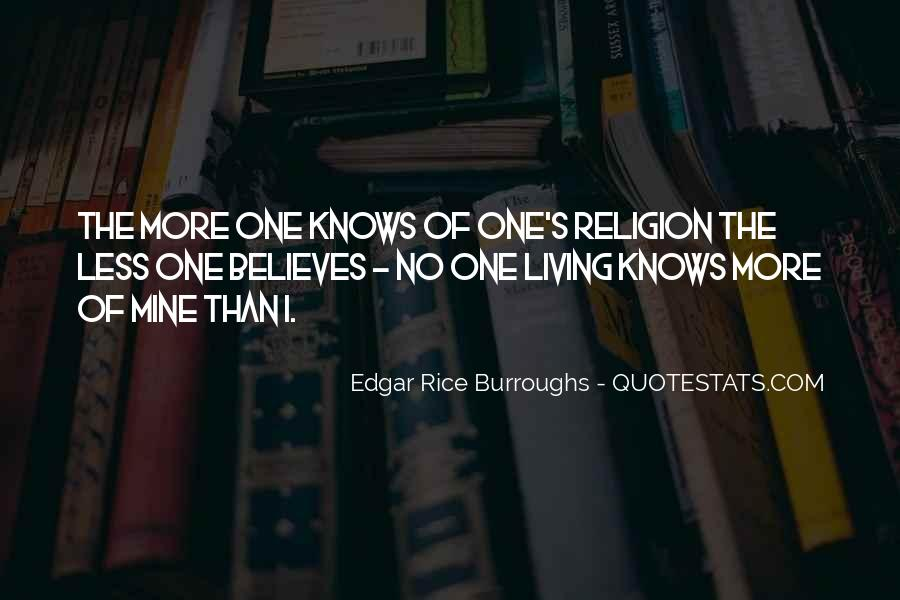 Edgar Rice Burroughs Quotes #844120