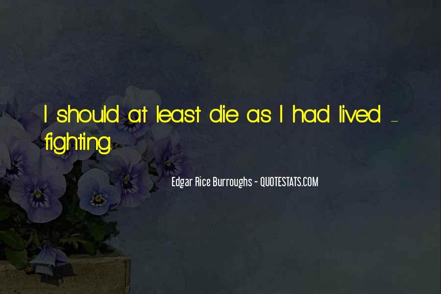Edgar Rice Burroughs Quotes #97419
