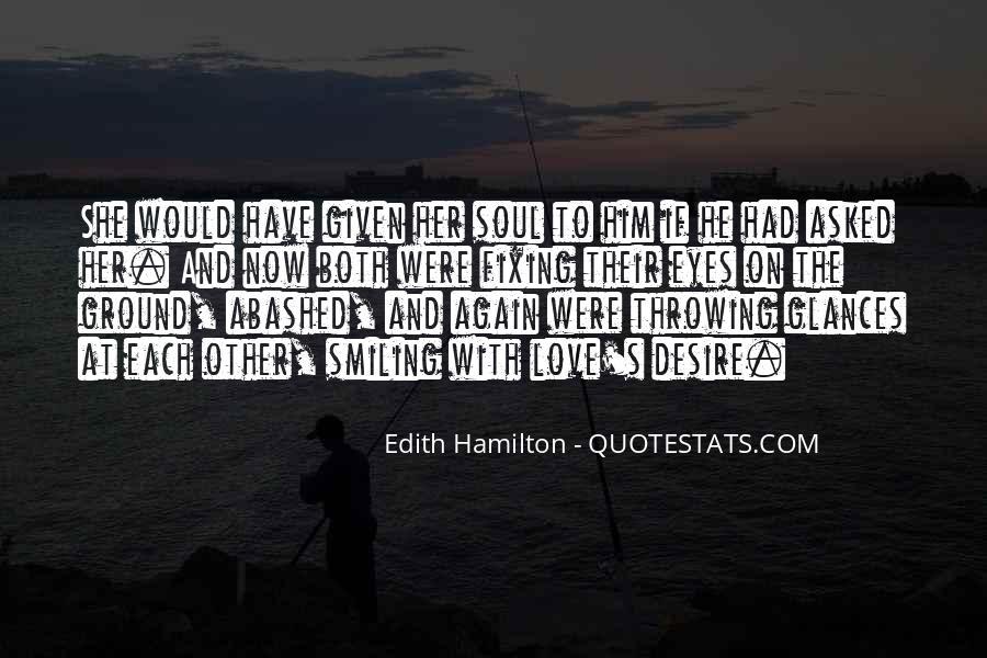 Edith Hamilton Quotes #1398872