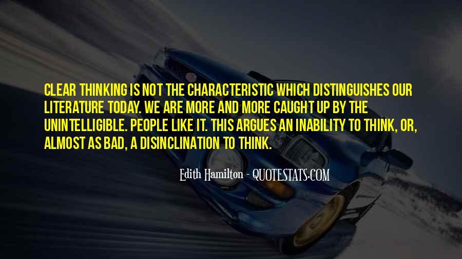 Edith Hamilton Quotes #144941