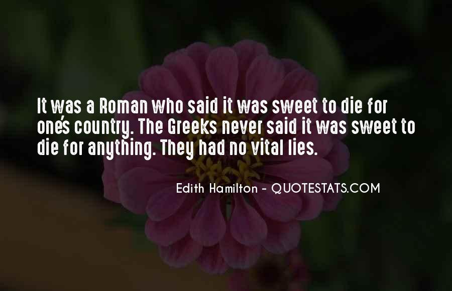 Edith Hamilton Quotes #1480808