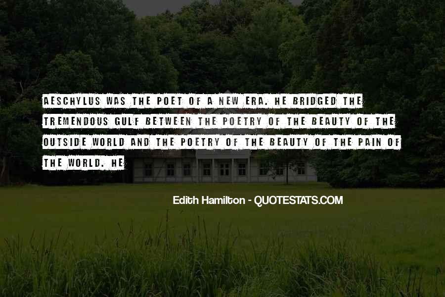 Edith Hamilton Quotes #1491624