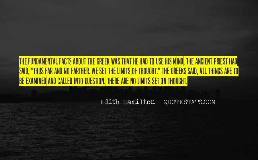 Edith Hamilton Quotes #1509795