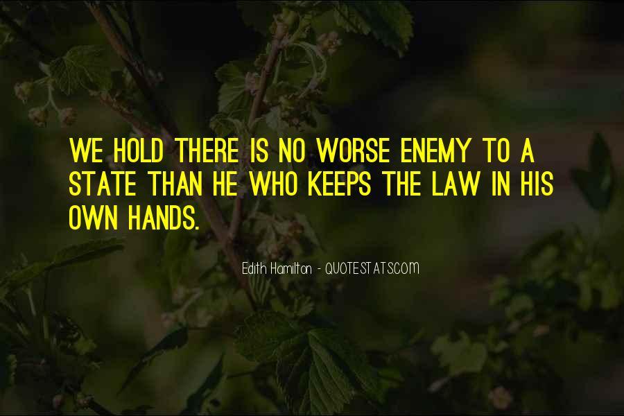 Edith Hamilton Quotes #1530883