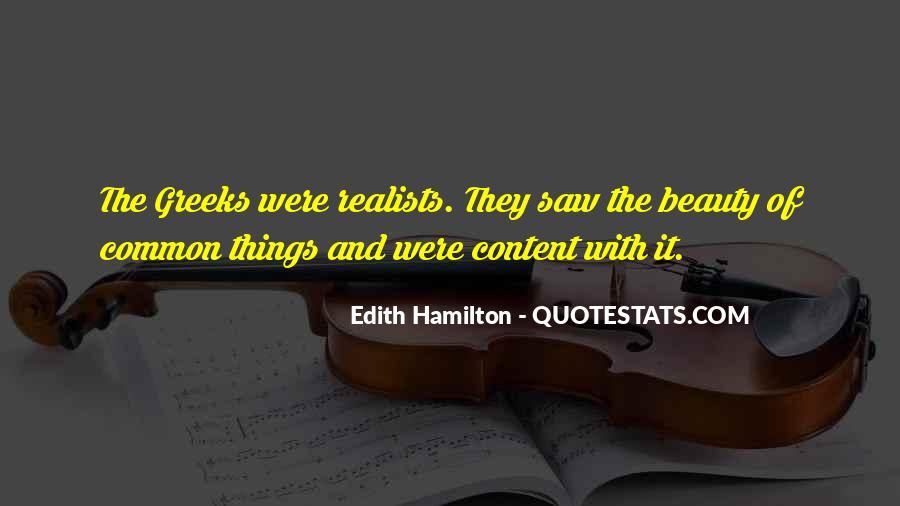 Edith Hamilton Quotes #1574983