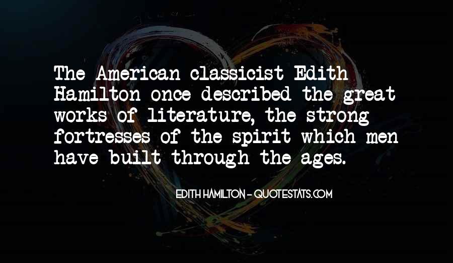 Edith Hamilton Quotes #1697390