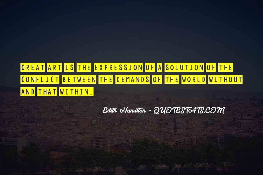 Edith Hamilton Quotes #1774031