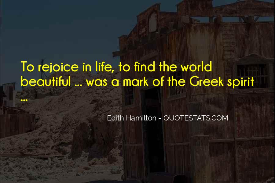 Edith Hamilton Quotes #227417