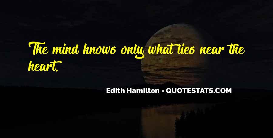 Edith Hamilton Quotes #381745