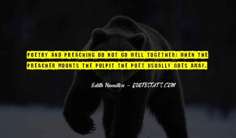 Edith Hamilton Quotes #381927