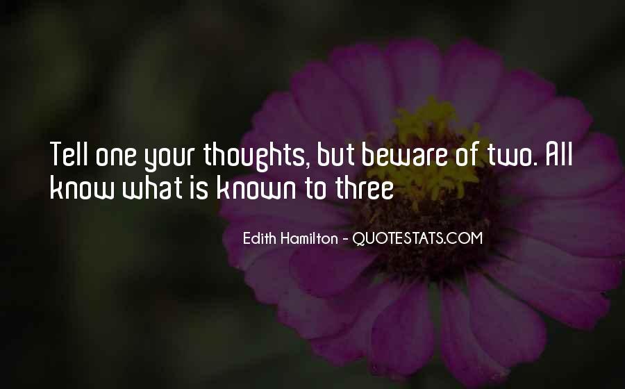 Edith Hamilton Quotes #453174