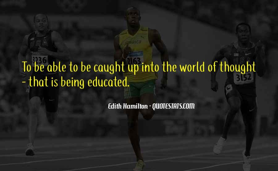 Edith Hamilton Quotes #465987