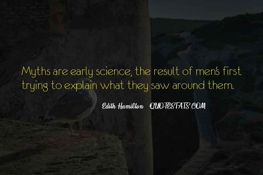 Edith Hamilton Quotes #506493