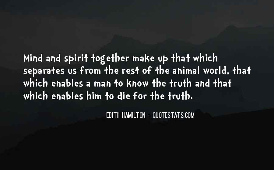 Edith Hamilton Quotes #741502