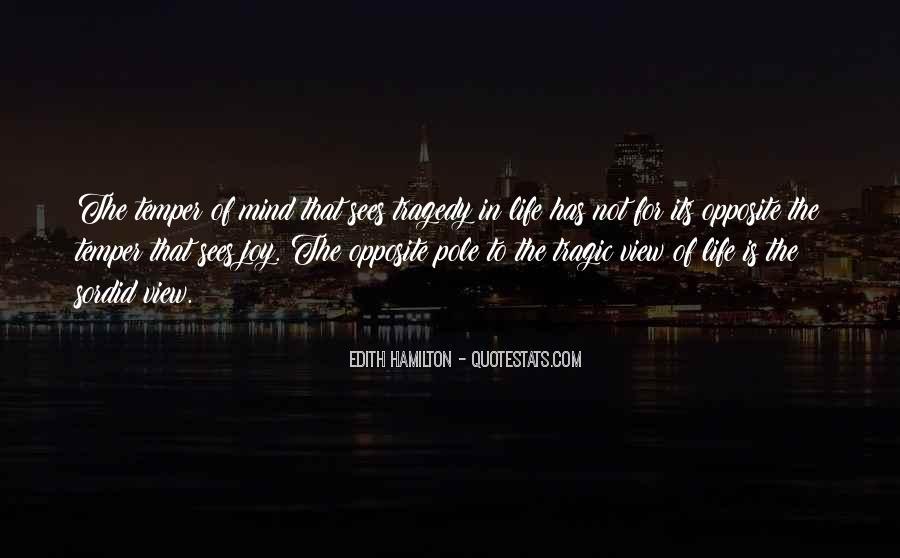 Edith Hamilton Quotes #850870