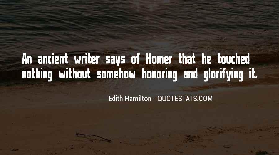 Edith Hamilton Quotes #863184