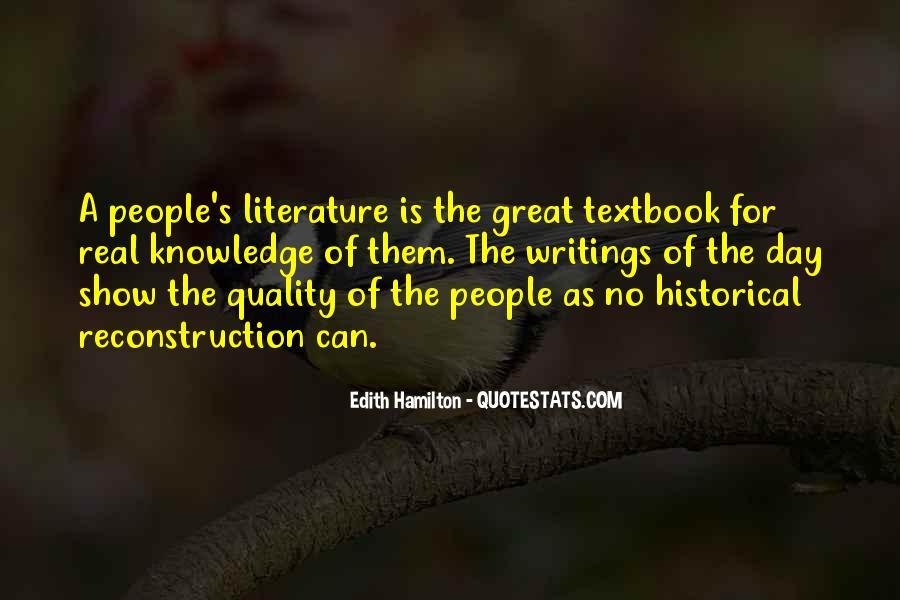 Edith Hamilton Quotes #882883