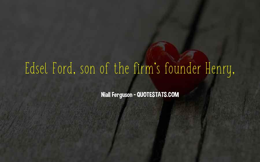 Edsel Ford Quotes #1606517