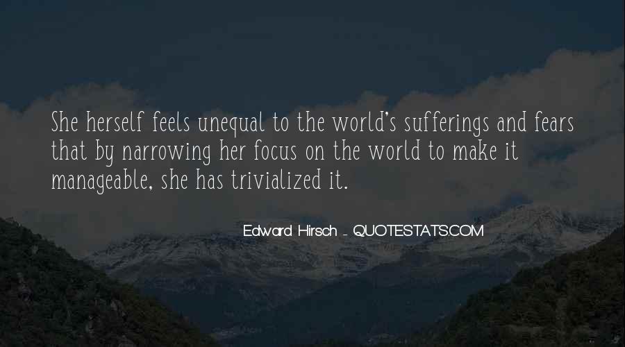 Edward Hirsch Quotes #103847