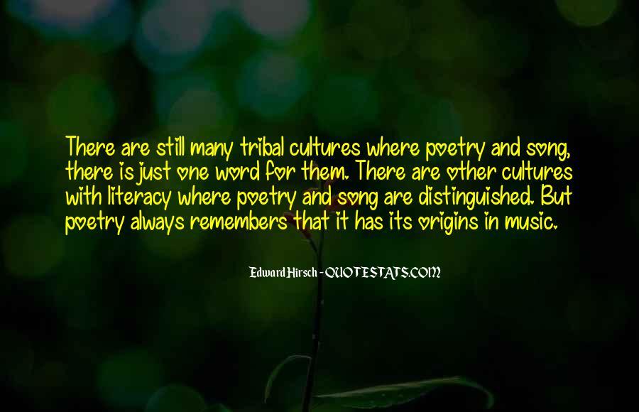 Edward Hirsch Quotes #128830